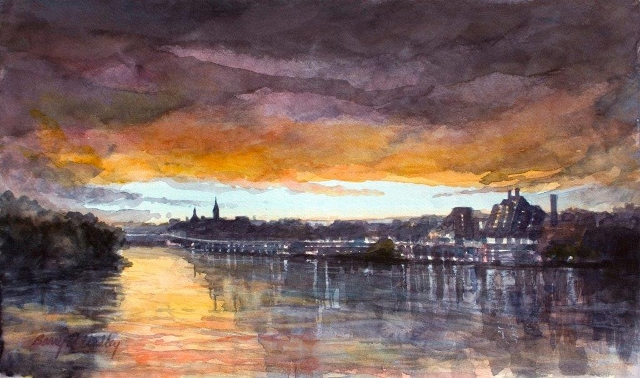 Lindley-Georgetown-from-Kennedy-Center-at-Sunset-13x22-watercolor.jpg